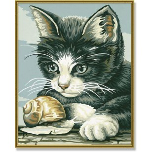 Paveikslas tapymui Kačiukas